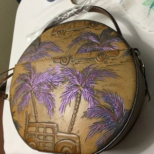 Brahmin Lane 'Purple Haze & Tan' NWT